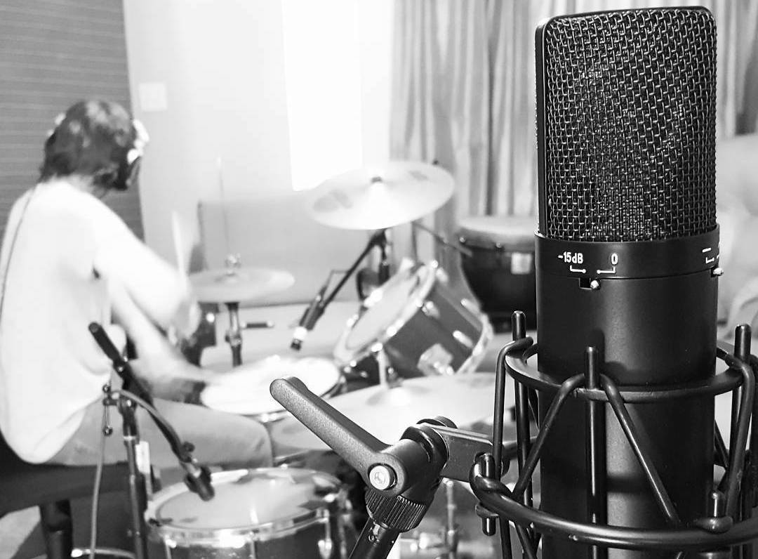Studio A Live Tracking Drums